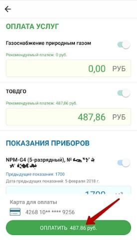 Оплата через мобильник