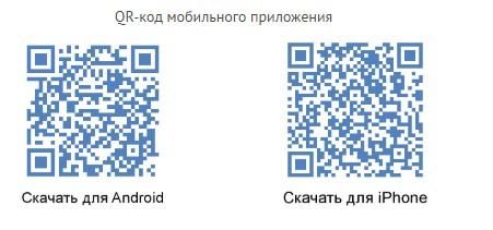 QR-код мобильных приложений