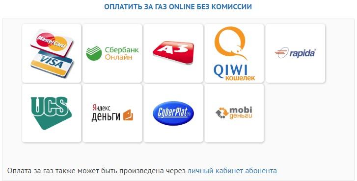 Оплата Online