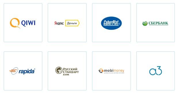 Платежные интерактивные сервисы